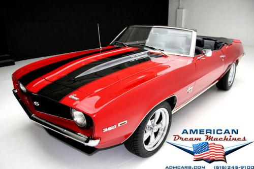 For Sale Used 1969 Chevrolet Camaro Convertible SS | American Dream Machines Des Moines IA 50309