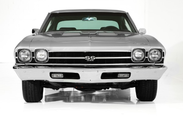 For Sale Used 1969 Chevrolet Chevelle Cortez Silver SS 396 AC | American Dream Machines Des Moines IA 50309