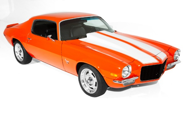 For Sale Used 1970 Chevrolet Camaro Orange Split Bumper | American Dream Machines Des Moines IA 50309