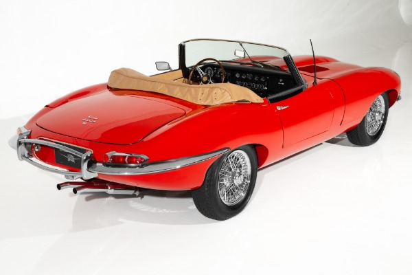 For Sale Used 1968 Jaguar E-Type Red Extensive Restoration | American Dream Machines Des Moines IA 50309