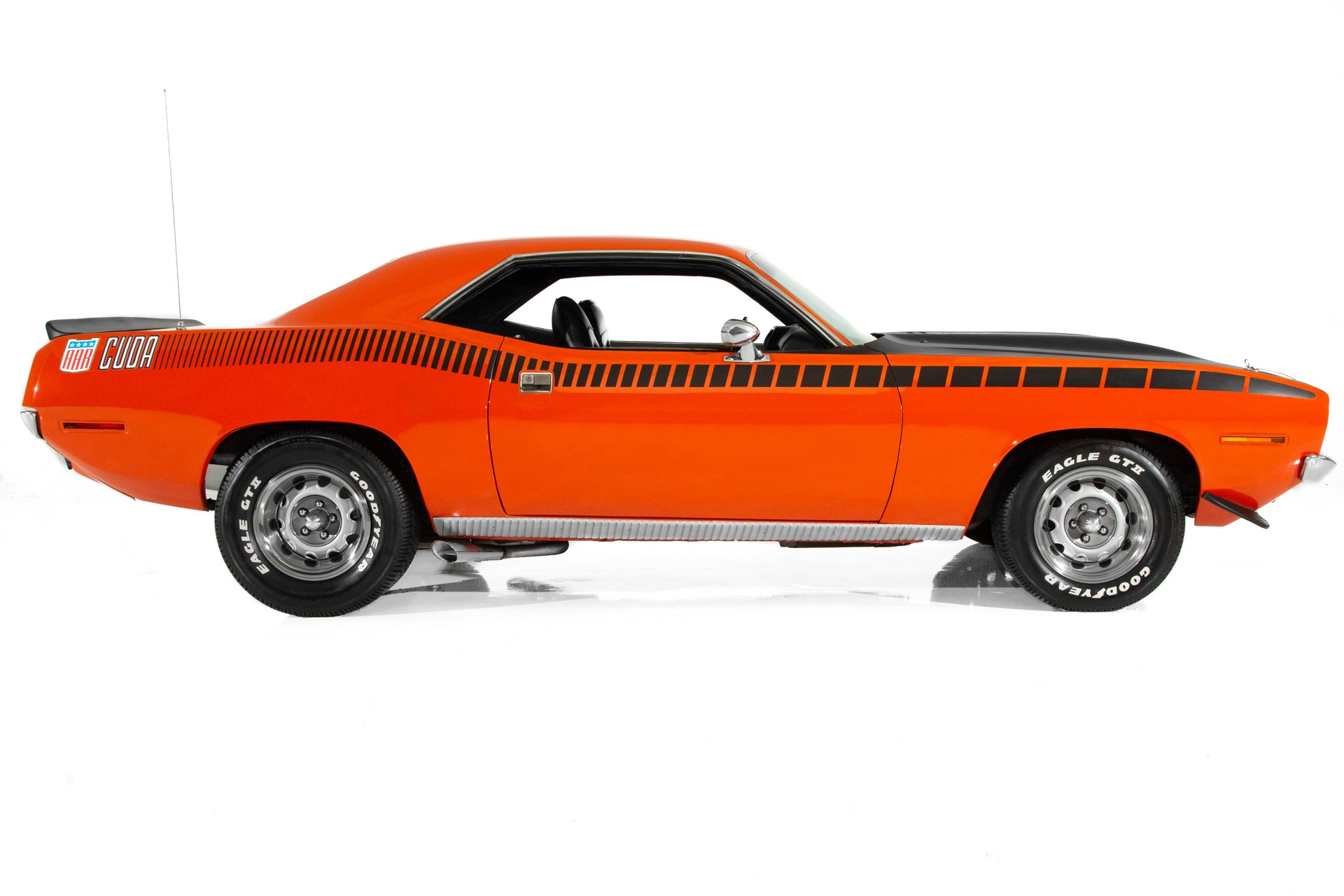 For Sale Used 1970 Plymouth Cuda AAR 340 Six Pack | American Dream Machines Des Moines IA 50309
