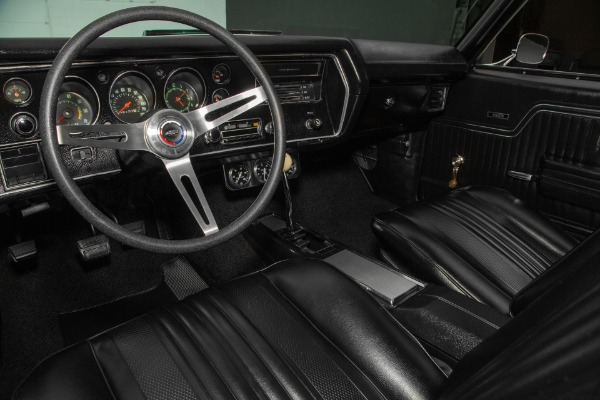 For Sale Used 1970 Chevrolet Chevelle Black SS 454 4-Speed | American Dream Machines Des Moines IA 50309