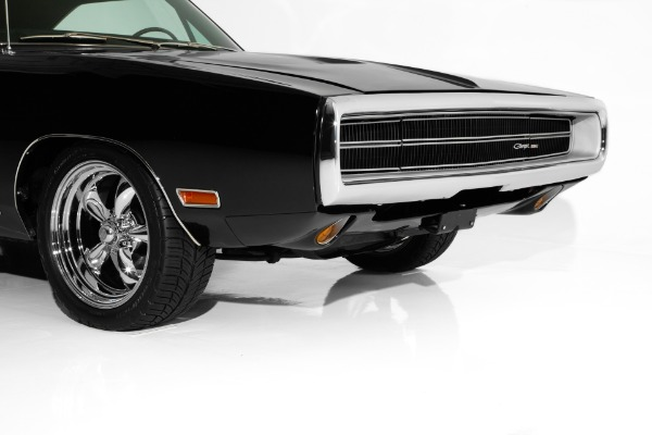For Sale Used 1970 Dodge Charger Triple Black SE #s Matching | American Dream Machines Des Moines IA 50309