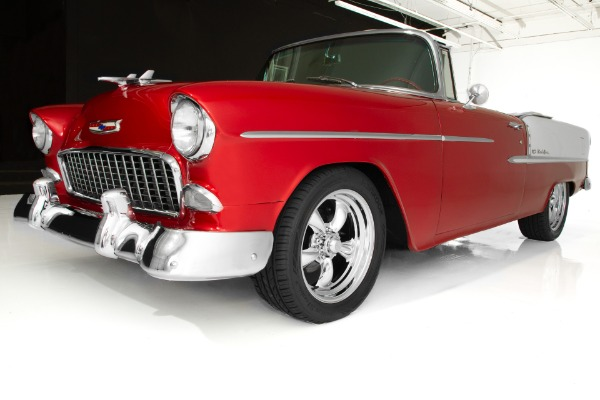 For Sale Used 1955 Chevrolet Bel Air Brandywine 502, 5-Speed | American Dream Machines Des Moines IA 50309