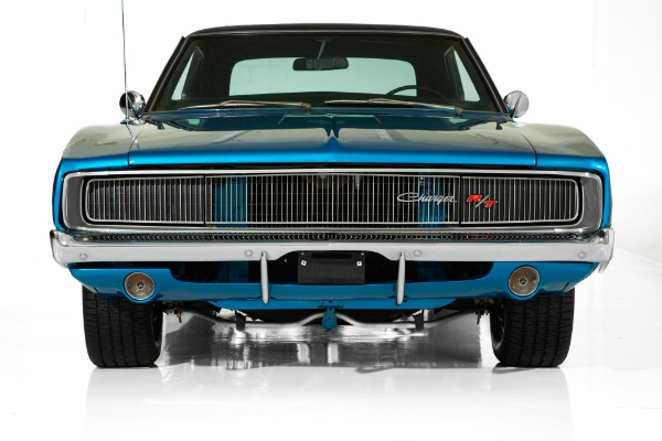 For Sale Used 1968 Dodge Charger B5 Blue, Black Interior 440, 4-Speed, Nut and Bolt Frame Off Restoration | American Dream Machines Des Moines IA 50309