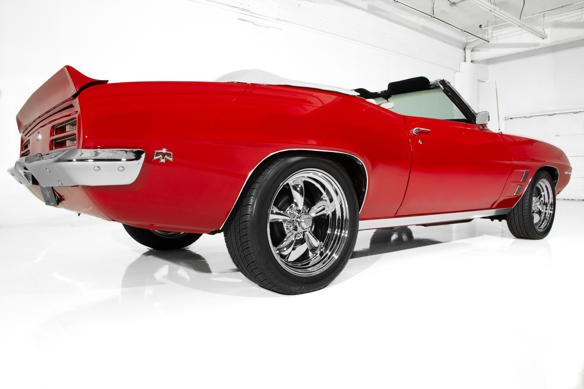 For Sale Used 1969 Pontiac Firebird # Match PS PB Chrome | American Dream Machines Des Moines IA 50309