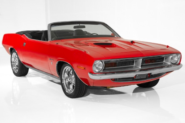 For Sale Used 1970 Plymouth Barracuda 383 pistol grip 4-Speed | American Dream Machines Des Moines IA 50309