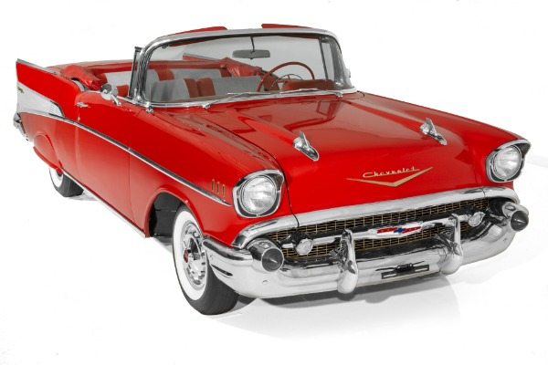 1957 Chevrolet Bel Air  283 Dual Quads Auto PS PB