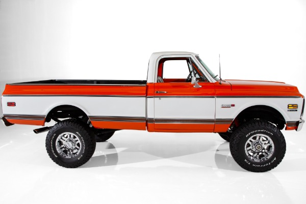 For Sale Used 1972 Chevrolet Pickup Super Cheyenne 4x4  6.2LS | American Dream Machines Des Moines IA 50309