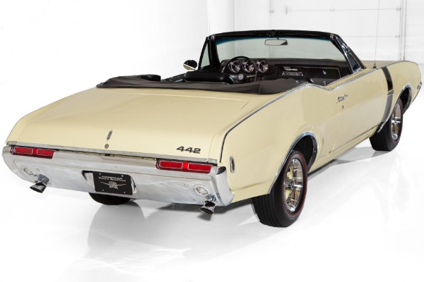 For Sale Used 1968 Oldsmobile 442 Convertible  #s Match 400ci | American Dream Machines Des Moines IA 50309