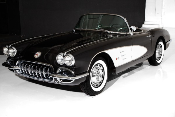 For Sale Used 1959 Chevrolet Corvette Convertible 283 Dual 4s | American Dream Machines Des Moines IA 50309